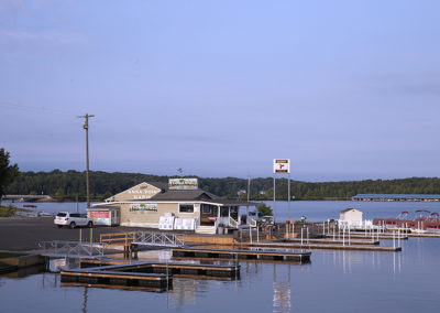 Anna Point Marina docks